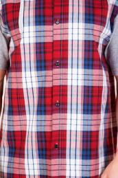 "Рубашка ""Юстин"" красная"