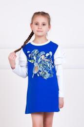 """Платье  """"Настёнка"""" синее"""