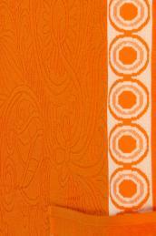 "Полотенце  ""Самоцвет"" оранжевое"