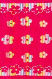 """Полотенце  """"Цветочная феерия """"розовое"""