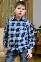 """Рубашка детская """"Фланель"""""""