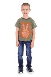 Футболки с шелкографией мальчик Размер 26-32 (кулирка) 5 шт.