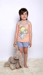 Пижама Ангел Размер 28-38 (кулирка) 3 шт.