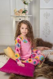 Пижама Таня Размер 28-38 (футер) 2 шт.
