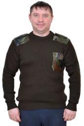 """Свитер """"Форменный"""" хаки"""