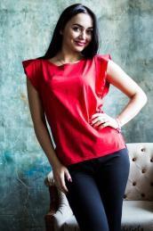 Блузка Ф 031 (красная)