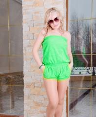 Комбинезон Ш 16 (зеленый)