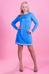 Платье П 537 (бирюза)