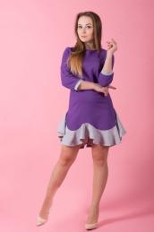 Платье П 505 (фиолетовый)