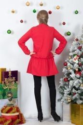 Платье-туника Т 128 (красный)