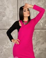 Платье 01007 (фуксия)