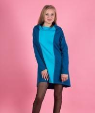 Платье 01013 (синий)