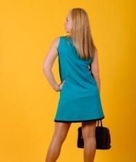 Платье П 546 (изумруд)