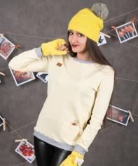 Свитшот Ф 125 (желтый)