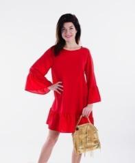 Платье П 666 (красный)