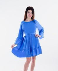 Платье П 666 (голубой)