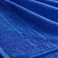 "Полотенце ""Бордюр"" синие"