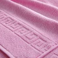 "Полотенце ""Бордюр"" светло-розовое"